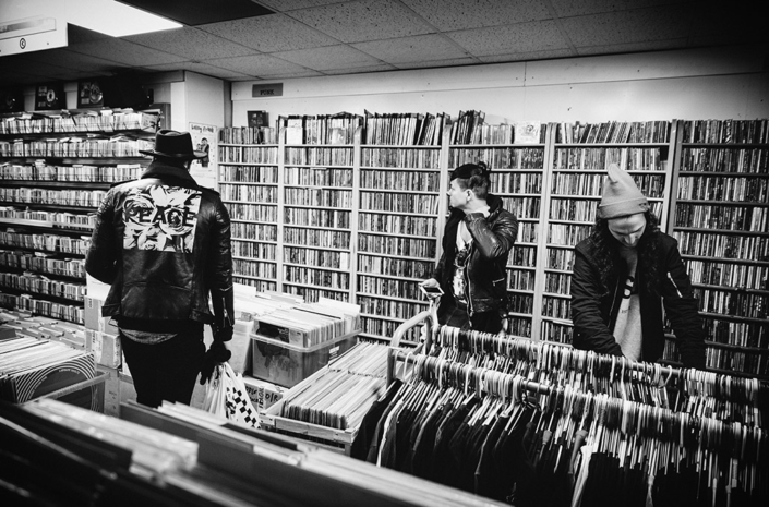 New Volume in a record store photographed by Marcus Maschwitz