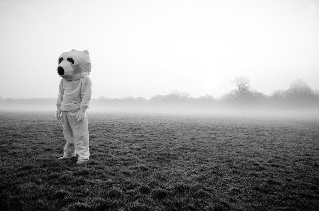 Richmond park polar bear photographed by Marcus Maschwitz
