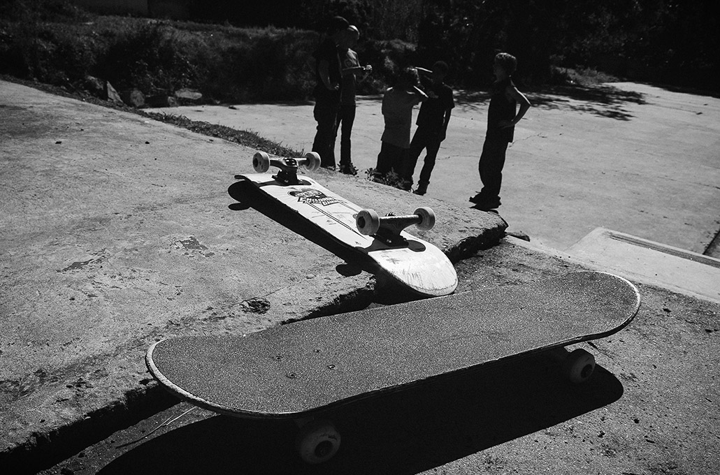 Skateboards photographed by Marcus Maschwitz