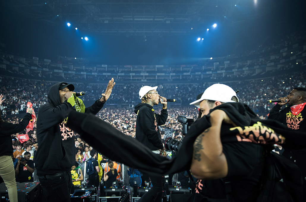 Red Rull Culture Clash London Wiz Khalifa and Taylor Gang photographed by Marcus Maschwitz