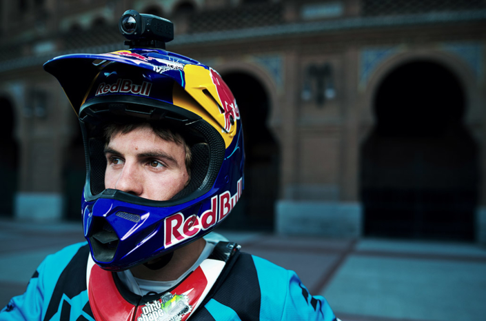 Red Bull Xfighters Josh Sheehan portrait