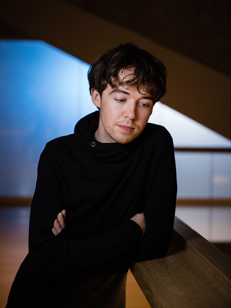 Red Bull Spark actor Alex Lawther photographed by Marcus Maschwitz