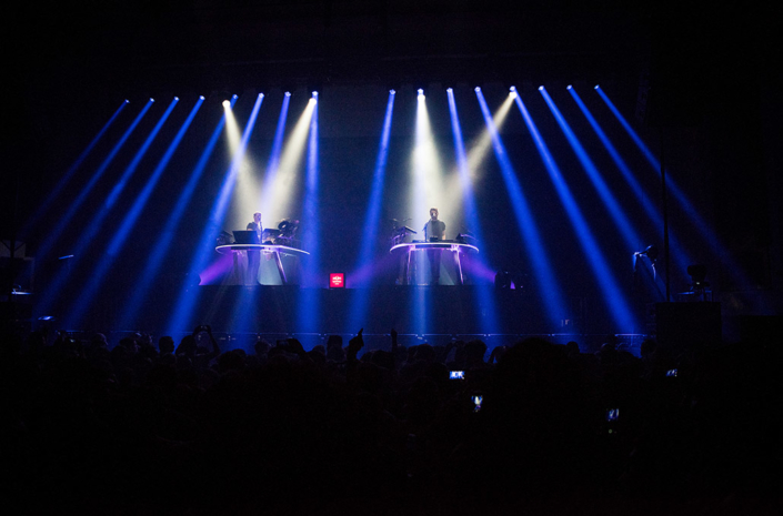 Red Bull Studios Disclosure Caracal live wide photographed by Marcus Maschwitz