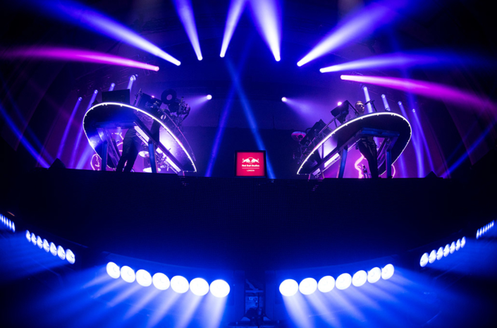 Red Bull Studios Disclosure Caracal live lighting photographed by Marcus Maschwitz