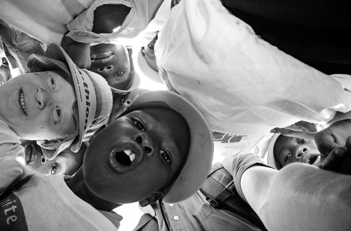 Kids in Soweto photographed by Marcus Maschwitz