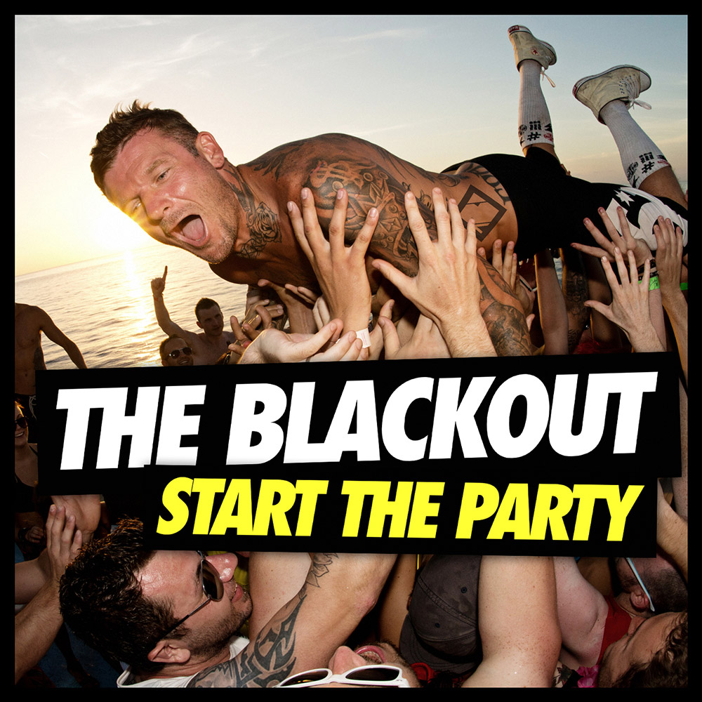 The Blackout Start The Party album artwork photographed by Marcus Maschwitz