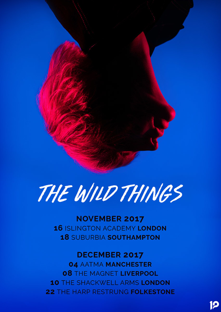 The WIld Things UK tour artwork photographed by Marcus Maschwitz