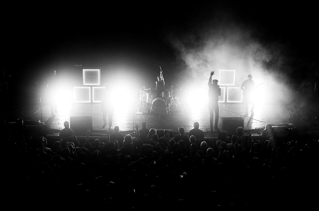 Young Guns crowd at Brixton Academy photographed by Marcus Maschwitz