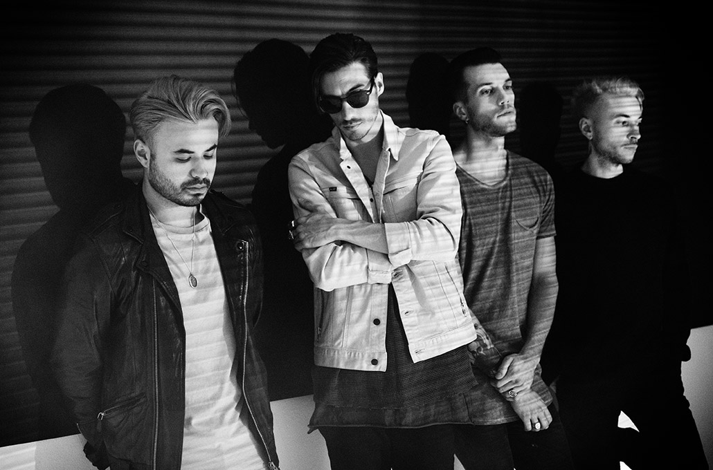 Young Guns daylight portrait photographed by Marcus Maschwitz